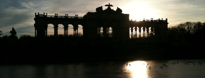 Gloriette is one of Vienna - unlimited.
