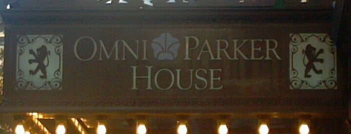Omni Parker House is one of Boston 7Spots Adventures.