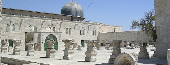 al-Aqsa Mosque is one of Locais curtidos por Pelin.