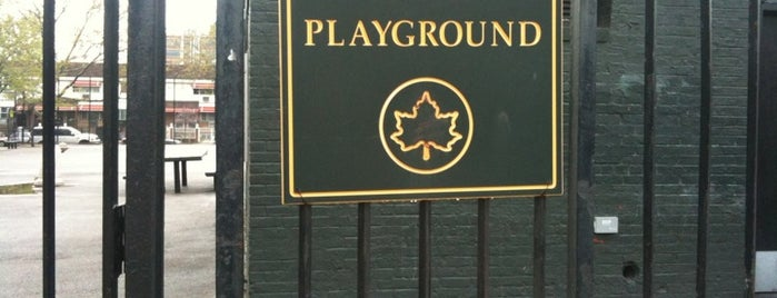 Stockton Playground is one of Where to play ball — Public Courts.