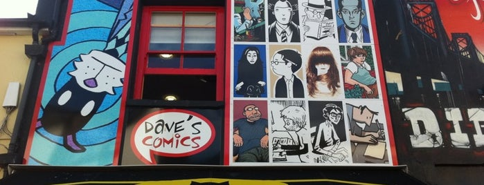 Dave's Comics is one of Brighton.