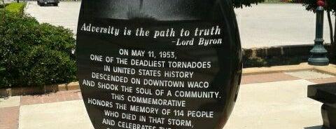 Waco Tornado Teardrop is one of Locais curtidos por Mike.