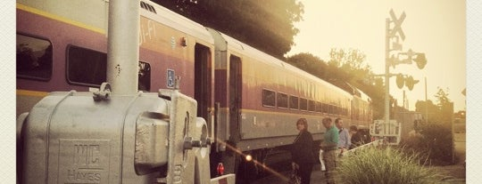 Train Stations-Andover to Boston