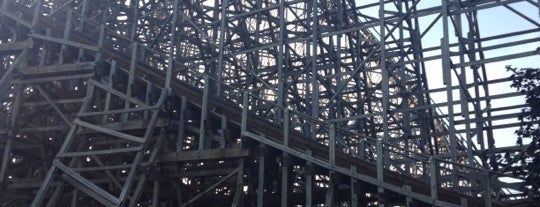 Mean Streak is one of Stevenson's Favorite Roller Coasters.