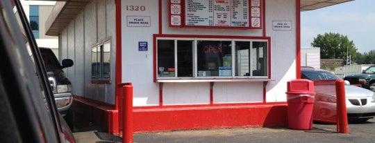 Burger Time is one of Locais salvos de Emily.
