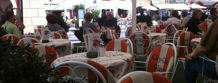City Cafe Glanzl is one of Tempat yang Disukai Hdo.