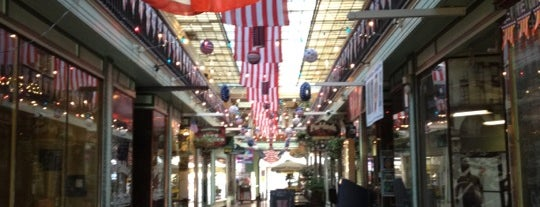 Paddock Arcade is one of NYC-Toronto Road Trip.