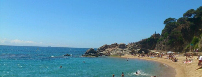 Platja de Lloret de Mar is one of Playas de España: Cataluña.
