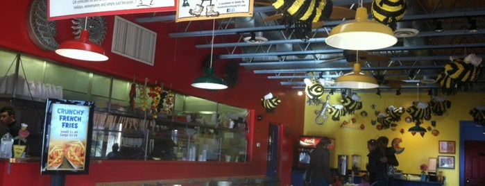 Bumble Bee's Baja Grill is one of santa fe.