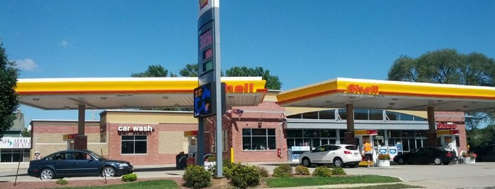 Shell is one of Orte, die Rachel gefallen.