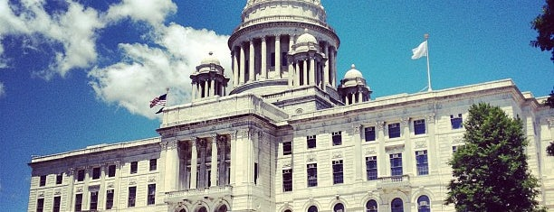 Rhode Island State House is one of The Crowe Footsteps.