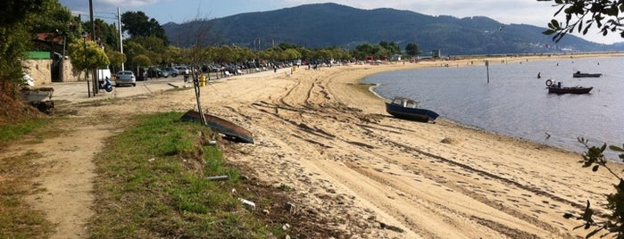 Praia de Cesantes is one of Playas de España: Galicia.