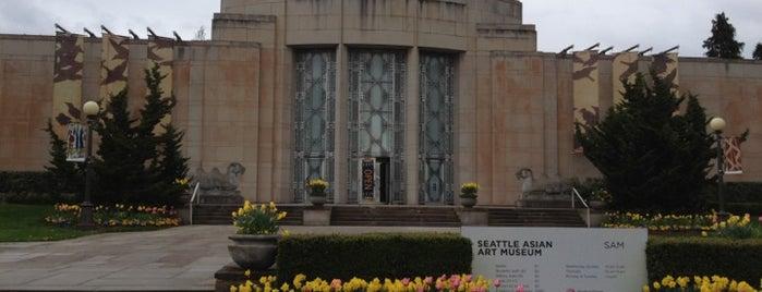 Seattle Asian Art Museum is one of 2012 MLA Seattle.