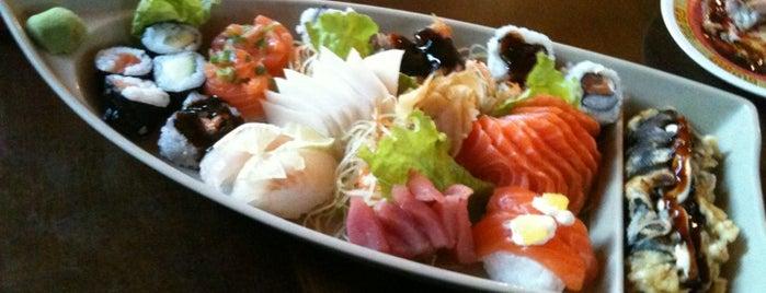 Sushi do Papa is one of สถานที่ที่ Greice ถูกใจ.