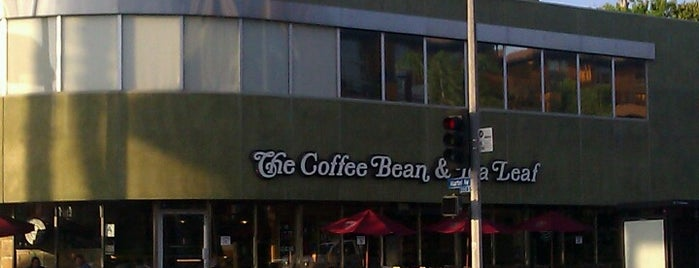 The Coffee Bean & Tea Leaf is one of LA.
