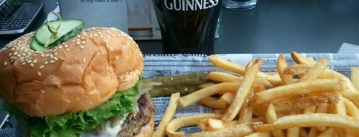Burger Moe's is one of Lowertown.