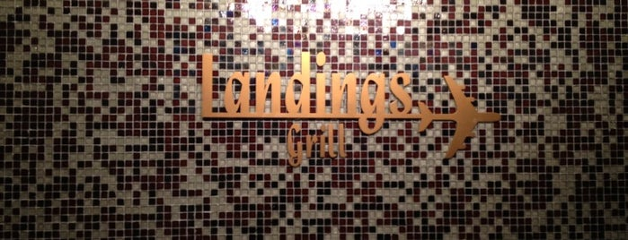 Landings Bar And Grill is one of Lieux qui ont plu à Alberto J S.