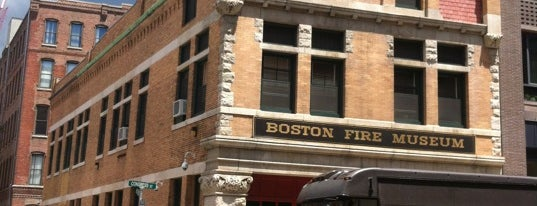 Boston Fire Museum is one of Great places for museum mysteries.