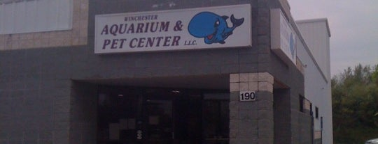 Winchester Aquarium & Pet Center is one of Katie : понравившиеся места.