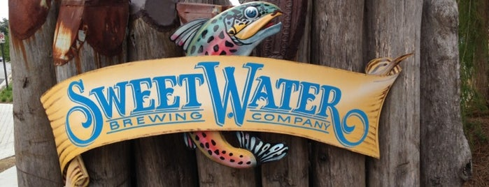 SweetWater Brewing Company is one of Breweries.