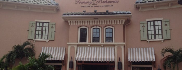Tommy Bahama's Restaurant & Bar is one of Lieux sauvegardés par Marco.