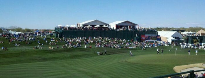 TPC Scottsdale is one of Orte, die Mike gefallen.