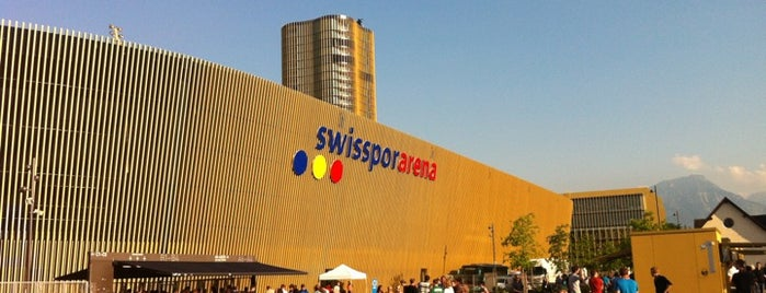 Swisspor Arena is one of Part 3~International Sporting Venues....