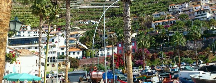 Câmara de Lobos is one of Madeira.