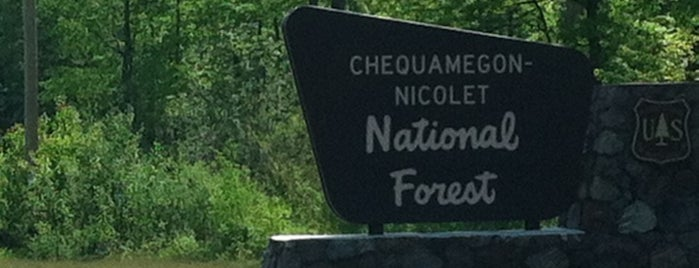 Chequamegon-Nicolet National Forest is one of National Recreation Areas.