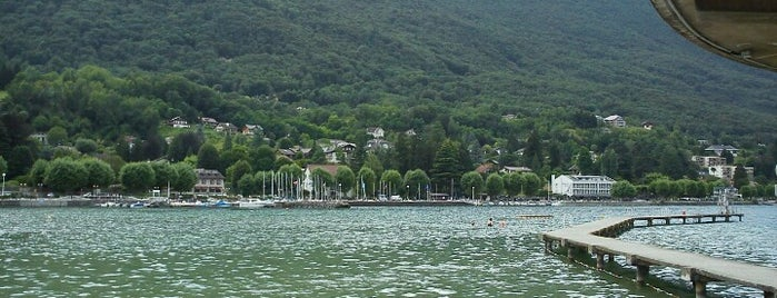 Plage du Bourget du Lac is one of Beach.