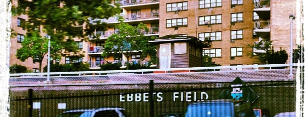 Ebbets Field (Former Site) is one of Sports Venues.