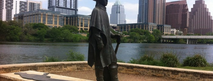 Stevie Ray Vaughan Statue is one of Austin, National Preservation Conference 2010.