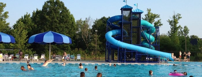 Moss Creek Swimming Pool is one of fav places.