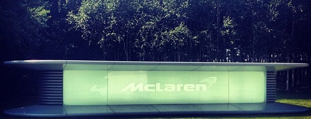 McLaren Technology Centre is one of Posti salvati di Alejandro.