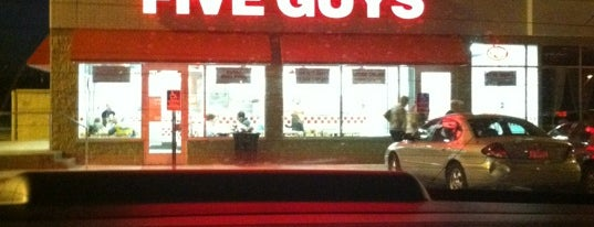 Five Guys is one of Jan's Liked Places.
