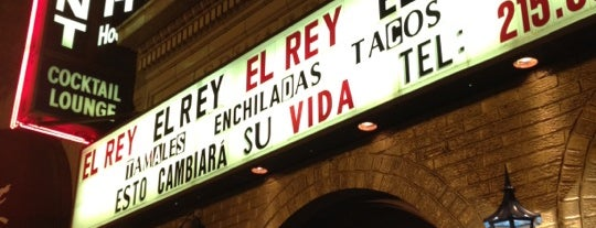 El Rey is one of Lugares guardados de Jason.