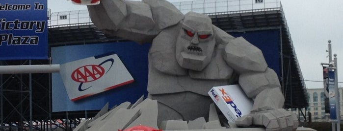 Dover International Speedway is one of dos....