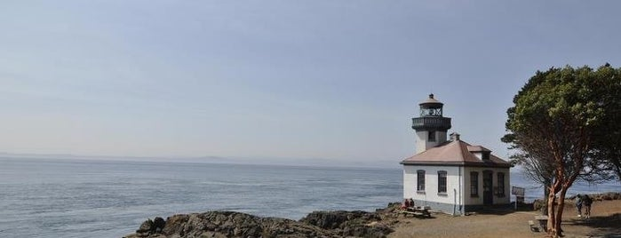 Lime Kiln Point State Park is one of Washington State - (Northwest).