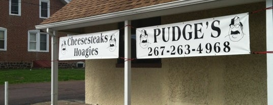 Pudge's Steaks & Hoagies is one of Phili area.