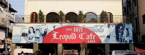 Leopold Café is one of Mumbai 2014 LenTom.