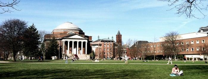 Syracuse University Quad is one of Campus Tour.