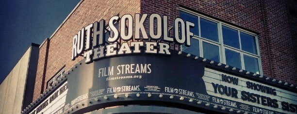 Film Streams' Ruth Sokolof Theater is one of West to East XC trip.