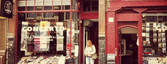 Concerto Records is one of Cafes for work in Amsterdam.