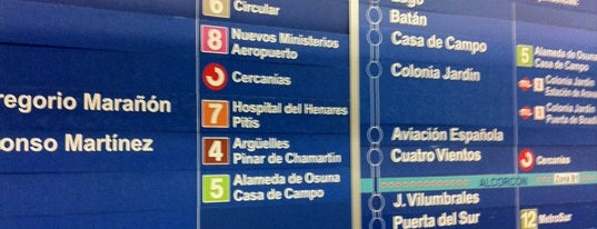Metro Cuzco is one of Madrid.