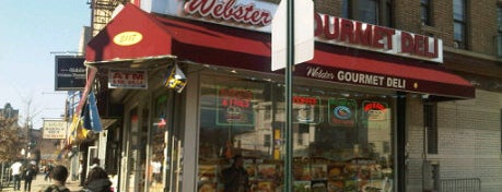 Webster Gourmet Deli is one of Meliqueさんのお気に入りスポット.