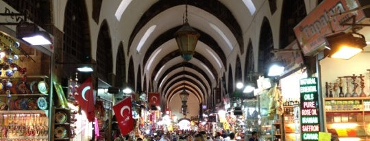 Bazar Egiziano is one of Istanbul City Guide.