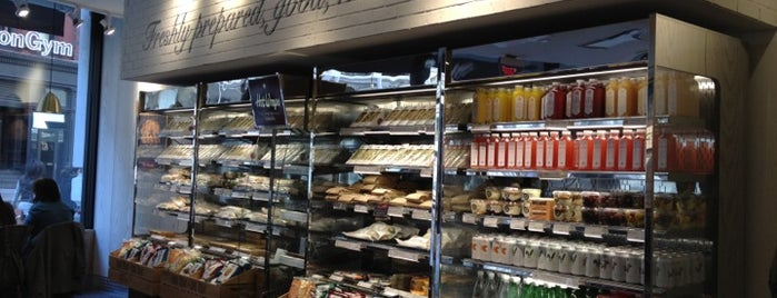 Pret A Manger is one of Gluten-free in NY.