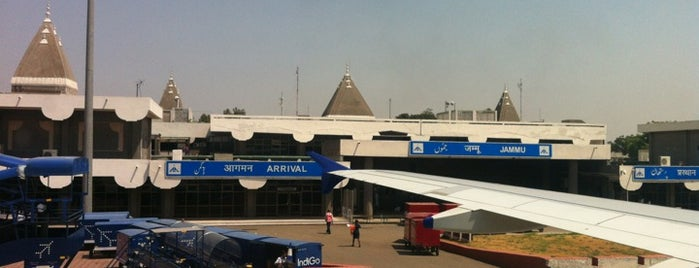 Jammu Airport |जम्मू हवाई अड्डा is one of Diana's Saved Places.