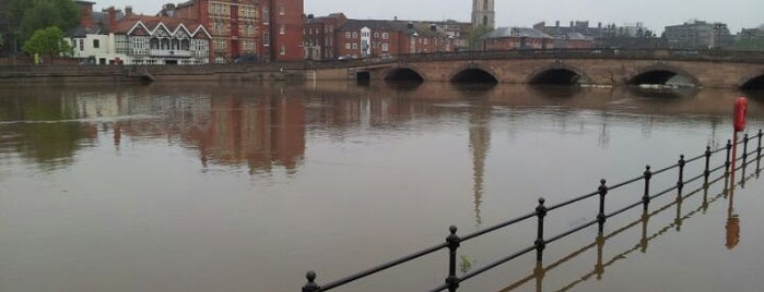 Worcester Bridge is one of Lieux qui ont plu à Carl.