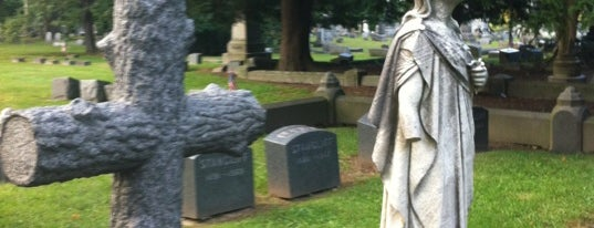 Woodlawn Cemetery is one of Dead Famous People ☠.